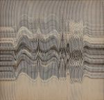 ABRAHAM PALATNIK<br>(1928) <br>Sem título <br>Relevo progressivo em cartão duplex <br>Ass. e datado 85, cid <br>46 x 46 cm