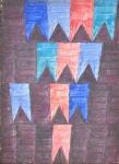 VOLPI, ALFREDO<br>(1896-1988)<br>Sem Título<br>Têmpera s/ tela<br>32,5 x 24 cm